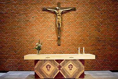 Malmin kirkon alttari
